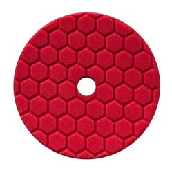 Chemical Guys Hex Logic Ultra-Fine Polierpad - Rot 150 mm / 6,5 Inch